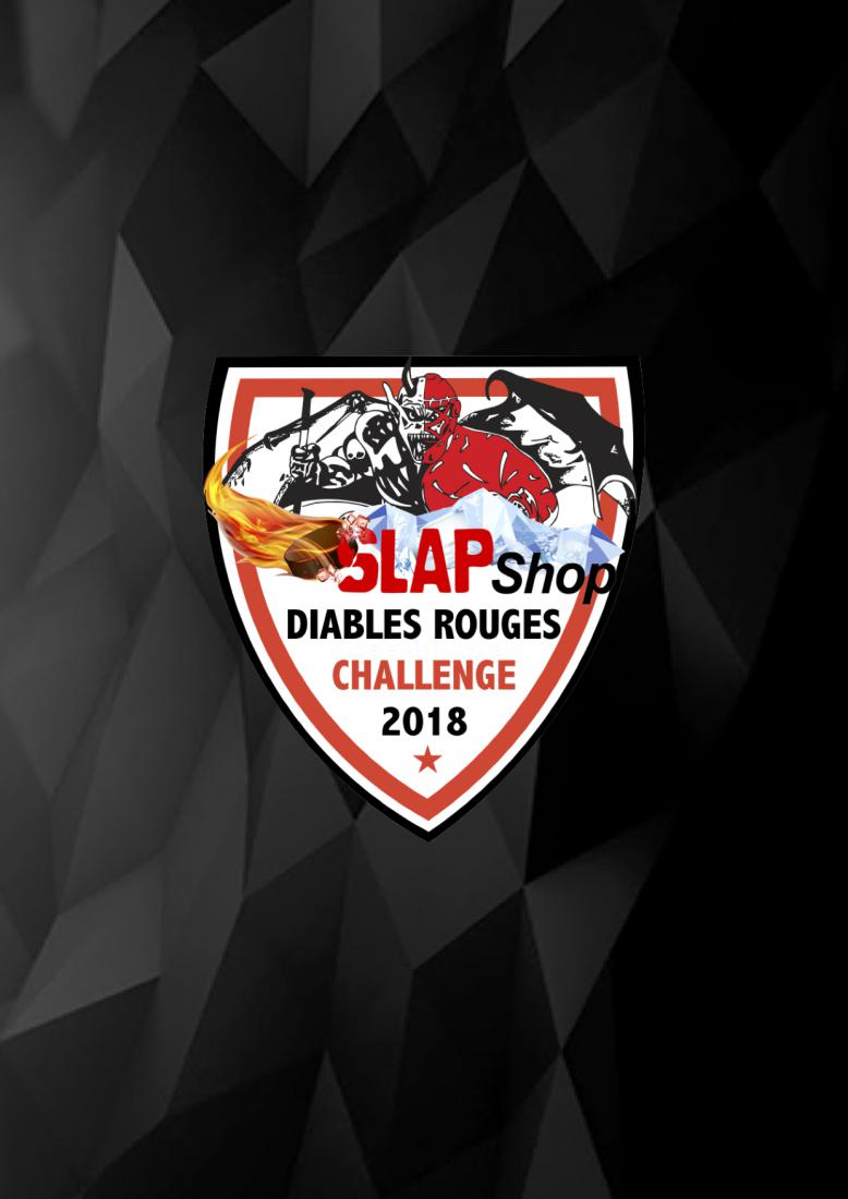 SLAPSHOP DIABLES ROUGES CHALLENGE 2018